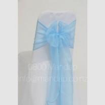 BABY BLUE ORGANZA