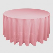 COLOURED ROUND  TABLECLOTH