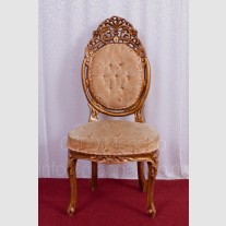 GOLD BRIDAL CHAIRS WITHOUT ARM