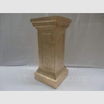 GOLD PLINTH  AISLE PILLARS