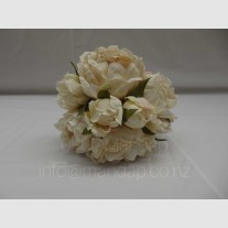 SHADES OF WHITE ARTIFICIAL  BOUQUET